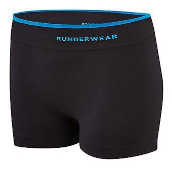 Runderwear Womens dames Running Hot Pant ondergoed zwart