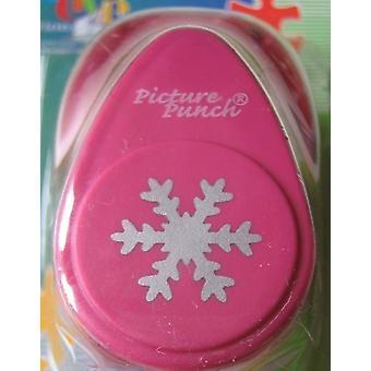 Vaessen Creative 21437–059Punch Snowflake
