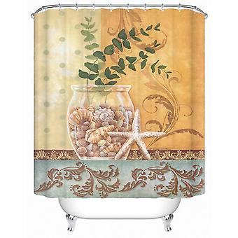 Seashells Vase Shower Curtain