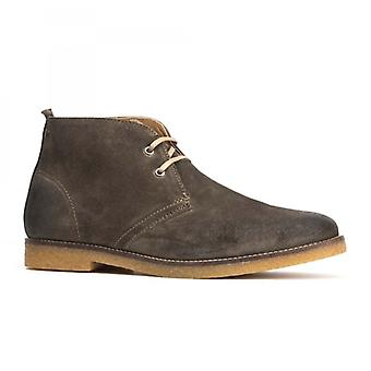 Base London Perry menns Suede Desert Boots oliven