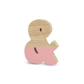 ラ・リュナ0211000-&セミラックレッドパインレター&ピンク