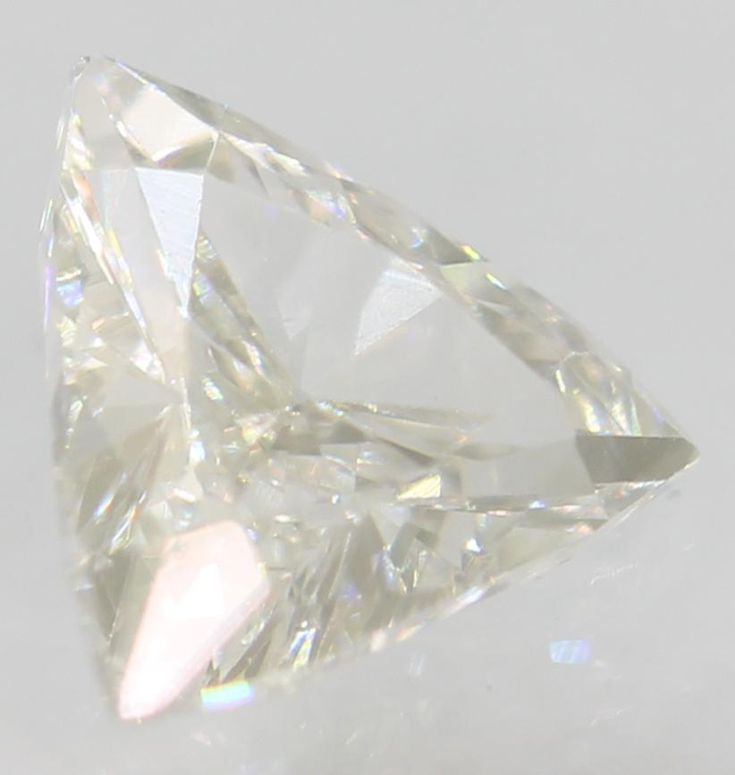 Certified 0.31 Carat E Color VVS2 Triangle Natural Loose Diamond 5.37x4.8mm