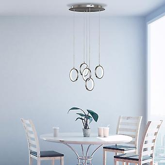 Soleil 5 Mini Pendant Lighting Nickel