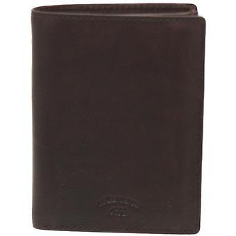 Gary Leather Zip Pocket Wallet - 4 Volets