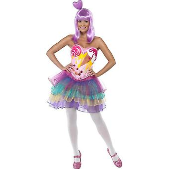 Candy Queen Costume, UK Dress 8-10