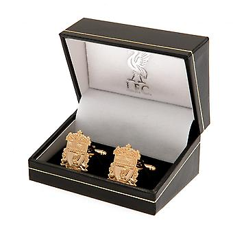 Liverpool FC Gold Plated Cufflinks