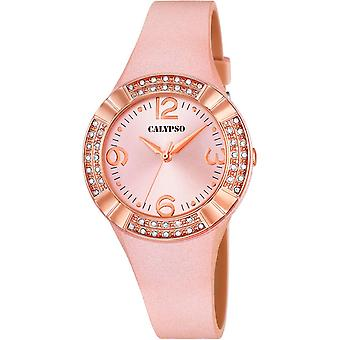 Calypso watch watches K5659-2 - Watch Silicone Pink woman