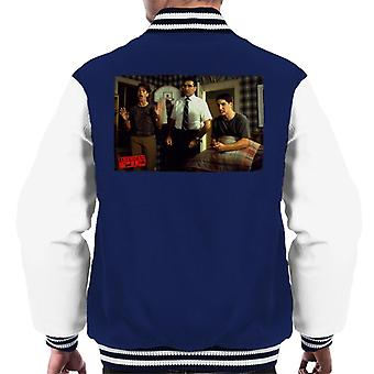 American Pie Jim Caught By Parents Men's Varsity Jacket