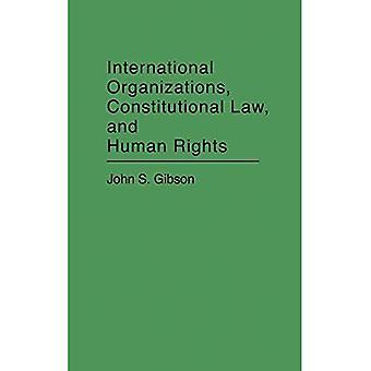 Internationale Organisationen, Verfassungsrecht und Menschenrechte