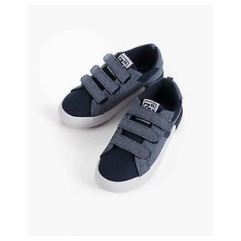 Zippy Blue Velcro Sneakers