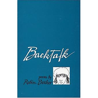 Backtalk by Robin Becker - 9780914086369 Book