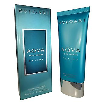 Bvlgari Aracena marine for men van bvlgari 3.4 oz after shave balsem