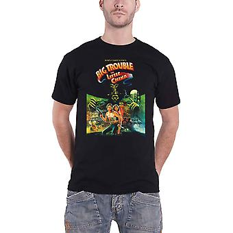 Big Trouble In Little China T Shirt Movie Poster new Official Mens Black