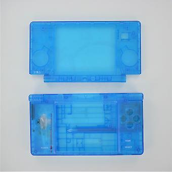 Housing for nintendo dsi console shell casing full repair kit replacement - clear blue | zedlabz