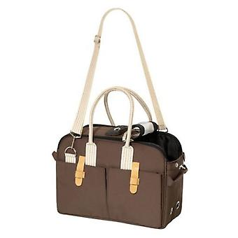 Karlie Flamingo CITY SHOPPER Travel brown bag 37X15X27CM