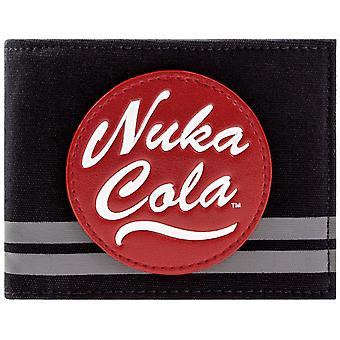 Bethesda Fallout 4 Nuka Cola Vault Boy ID & Card Bi-Fold Wallet
