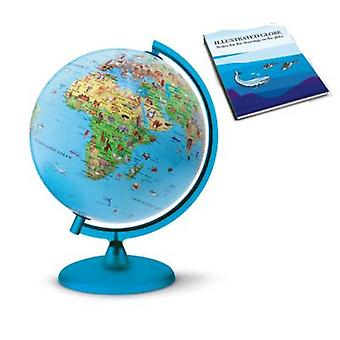 Symbole Kids World Globe (With Illustrated Book) Illuminated
