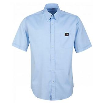 Paul And Shark Short Sleeved Oxford Shirt