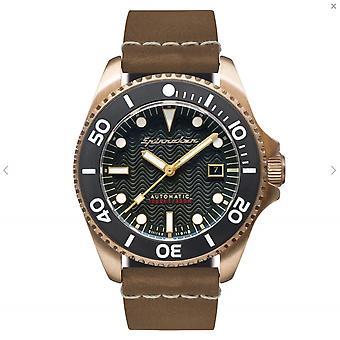 Spinnaker SP-5060-02 Gent's Tesei Green Dial Wristwatch