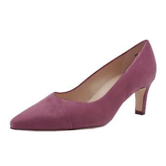 Peter Kaiser Maike Classic Court Shoes In Cassis Suede