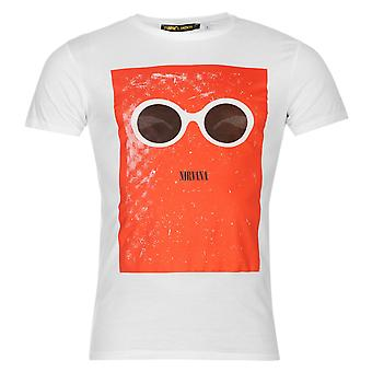 Mens officiel Kurt Cobain T Shirt Short Sleeve Crew Neck Tee haut vêtements