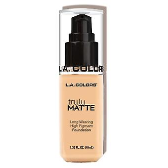 L.A. Colors Truly Matte Foundation Porcelain