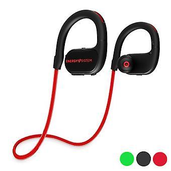 Fones de ouvido esportivos com sistem de energia do microfone funcionando 2 Bluetooth 4.2 100 mAh/Vermelho