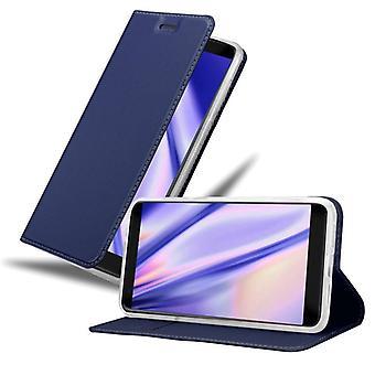 Cadorabo fodral för ZTE Blade V9 falllock - mobiltelefonfodral med magnetiskt lås, ståfunktion och kortfack – Case Cover Protective Case Book Folding Style