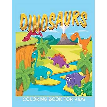 Dinosaurs Coloring Book for Kids Kids Colouring Books 12 by Masters & Neil