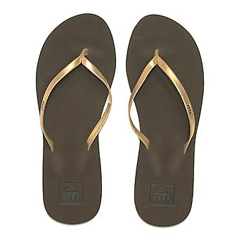 Reef Bliss Nights Flip Flops in Rose Gold