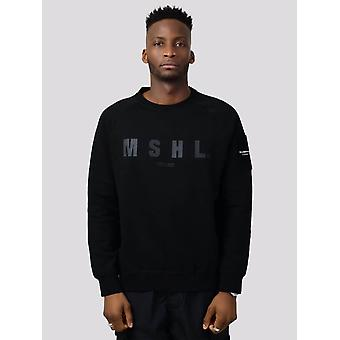 Marshall Artist Hybrid Tech Sweatshirt - Black