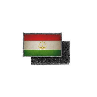 Patch ecusson prints vintage badge Tajikistan flag