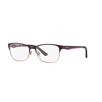 Vogue VO3940 965S Brushed Plum-Silver Glasses