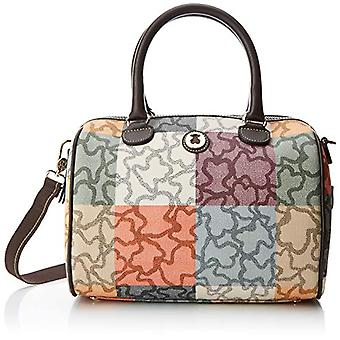 TOUS Bowling Kaos Cuadrados - Multicolored Women's Bags (Naranja/Marr n)