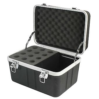 Pulse 12 Microphone Abs Flight Case - Abs-12mic