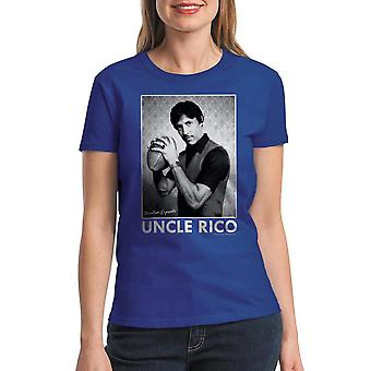 Napoleon Dynamite Uncle Rico Women's Royal Blue T-shirt