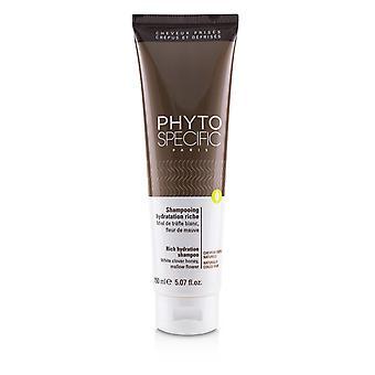 Phyto erityinen rikas nesteytys shampoo (luonnollisesti kelatut hiukset) 229645 150ml / 5.07oz