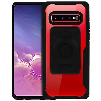 Fitclic Neo Semi-rigid Case Galaxy S10 Magnetic and Mechanical-Tigra Transparent
