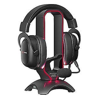 Gaming Headphones Support Mars Gaming MHHPRO USB 3.0 Black