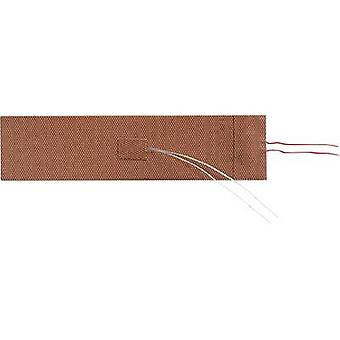 Thermo TECH Silicone Heating foil self-adhesive 24 V DC, 24 V AC 125 W IP rating IPX7 (L x W) 200 mm x 50 mm
