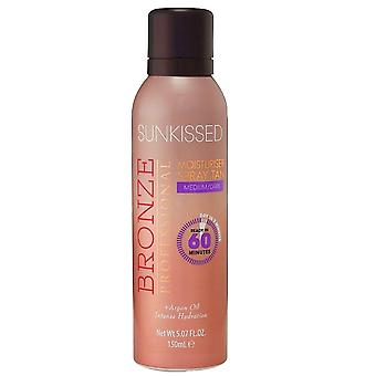 Sunkissed BP Moisturiser Spray Tan - Medium/Dark
