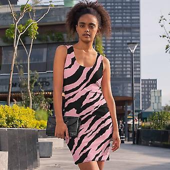 سليم تناسب اللباس | النمر الوردي طباعة