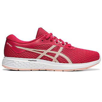 Asics باتريوت 11 النساء تشغيل ممارسة اللياقة البدنية مدرب حذاء الوردي