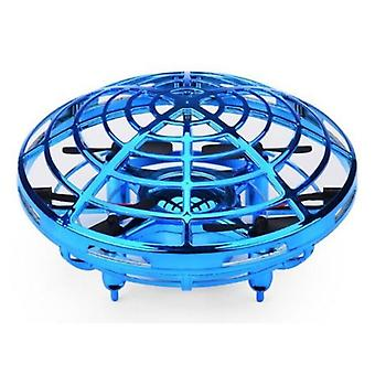Stuff Certified® Mini RC UFO Drone Quadcopter Helicopter Toy Blue