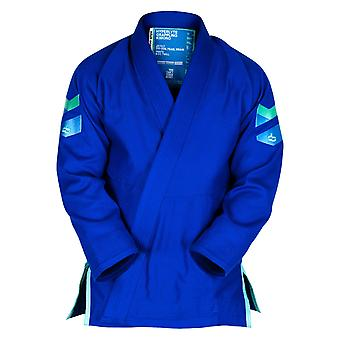 Hyperfly Hyperlyte 2.0 BJJ Gi Blue/Turkis