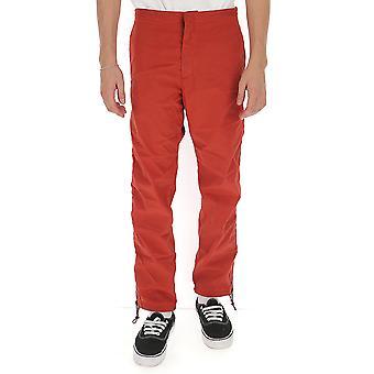 Heron Preston Hmca017f198410252000 Men's Red Nylon Pants