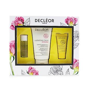 Decleor Certified Organic Soothing Box: Comfort 2 In 1 Cream & Mask 50ml+comfort Oil-serum 5ml+comfort Night Balm 2.5ml - 3pcs