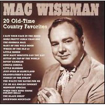 Mac Wiseman - 20 All-Time Favorites [CD] USA import
