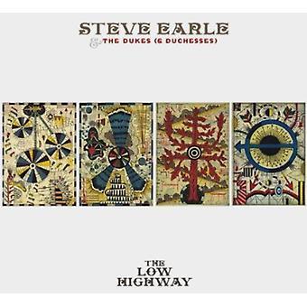 Steve Earle & the Dukes (& Duchesses) - Low Highway [CD] USA import
