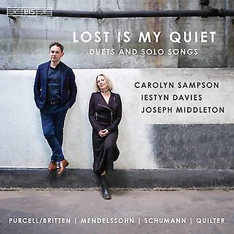 Bartholdy / Sampson / Middleton - Lost Is My Quiet / Duets & Solo Songs [SACD] USA import